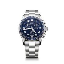 Victorinox Swiss Army Chrono Classic, blue dial, steel,...