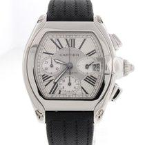까르띠에 (Cartier) Roadster Chronograph XL Steel Automatic Mens...