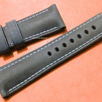 Panerai OFFICINE LEATHER STRAP ASSOLUTAMENTE BLACK CALF 27mm