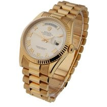 Rolex Unworn 118235 Mens Rose Gold Day - Date President with...
