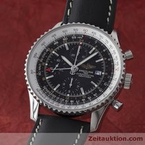 Breitling Navitimer World Chronograph Gmt Edelstahl A24322