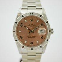 Rolex Oyster Perpetual Date mit Box und Papieren LC100