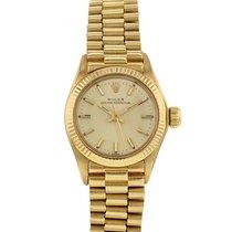 Rolex Oyster Perpetual Lady en or jaune Ref : 6719 Vers 1978