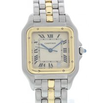 Cartier Midsize Cartier Panthere 18K Yellow Gold & SS
