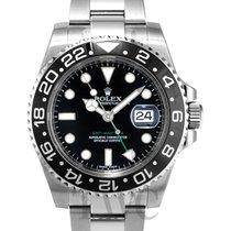 ロレックス (Rolex) GMT-Master II Black/Steel Ø40mm - 116710 LN