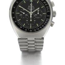Ωμέγα (Omega)   A Stainless Steel Tonneau Chronograph Wristwat...