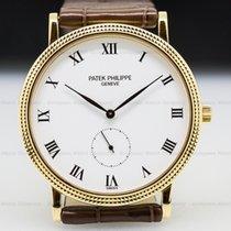 Patek Philippe 3919J-001 3919 Calatrava 18K Yellow Gold (26633)