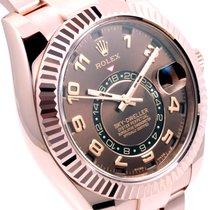Rolex 18K Everose Gold Sky-Dweller Choco Dial - 326935 CH