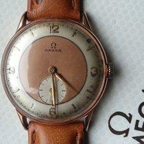 Omega Vintage Rare Pink Gold