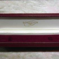 Longines rare vintage box leather unisex size newoldstock