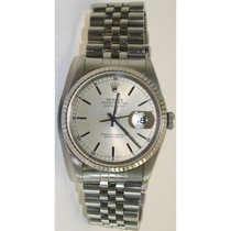 Rolex Datejust Midsize Stainless Steel Jubilee Band w/Silver...