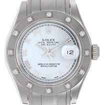 Rolex Ladies Rolex Masterpiece/Pearlmaster Watch 80329