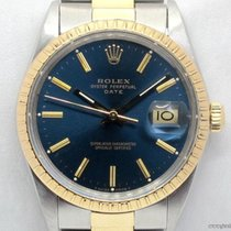 Rolex Vintage Date 15053 quadrante blu full set