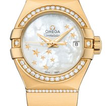 Omega Constellation Co-Axial Automatic Star 27mm 123.55.27.20....