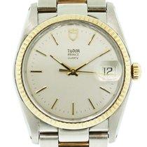 Τούντορ (Tudor) Two Tone  91533 Silver Stick Dial Watch