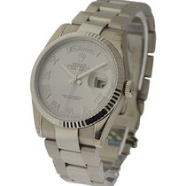 Rolex Unworn 118239 Day-Date President in White Gold with...