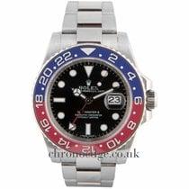 ロレックス (Rolex) Rolex GMT Master II 18ct White Gold 116719BLRO