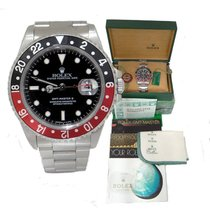 Rolex Oyster Perpetual Date Gmt-master II Stainless Steel Coke...