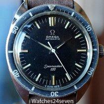 Omega Vintage Seamaster 120 Tritium Dial Silver Logo Dial