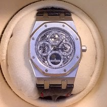 Audemars Piguet Royal Oak Perpetual Calendar Skeleton  - Platinum