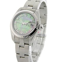 Rolex Used 79174 Ladys Datejust with Oyster Bracelet - WG...