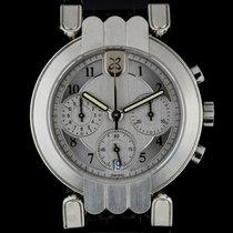 Harry Winston Platinum Silver Dial Premier Chronograph Gents...