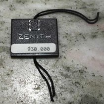 Zenith vintage tag black plastic