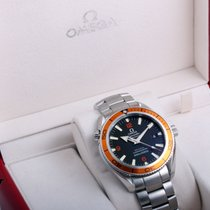 Omega SS Seamaster Planet Ocean Co-Axial Chrono w/ cards 2209.50