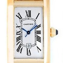Cartier Tank Americaine 1725 Yellow gold mid size