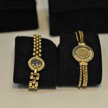 Chopard Happy Diamonds Uhr + Armband Set
