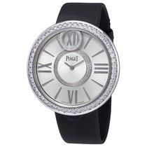 Piaget Limelight Dancing Light Silver Dial Satin Strap Ladies...