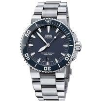 Oris Men's 733 7653 4155-07 8 26 01PEB Aquis Date Watch