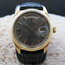勞力士 (Rolex) DAY-DATE 1803 18K Gold with Original Silver Grey Dial