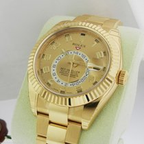 Rolex Sky Dweller 326938 Oyster Perpetual Yellow Gold