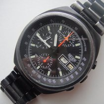 Heuer Pvd Lemania 5100  Vintage Chronograph Automatic