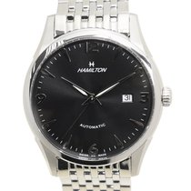 Hamilton 永恆經典纖薄系列 Stainless Steel Black Automatic H38715131