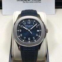 百達翡麗 (Patek Philippe) 5168G Aquanaut White Gold Blue Dial 42mm...