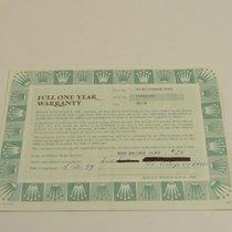 Rolex Warranty Certificate Ref: 14010