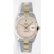 Rolex Date 15203 34mm Stainless Steel & 18k Yellow Gold...