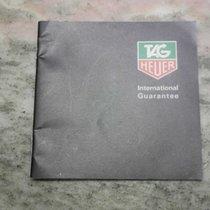 TAG Heuer vintage warranty booklet newoldstock