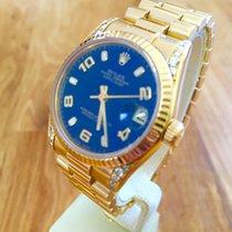 Rolex Datejust Midsize President Diamonds