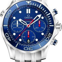 Omega Seamaster 300m Diver Co-Axial Chronograph 44mm 212.30.44...