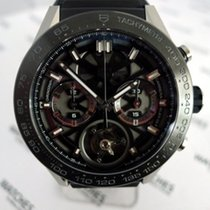 TAG Heuer Carrera Heuer a chronograph & tourbillon -...
