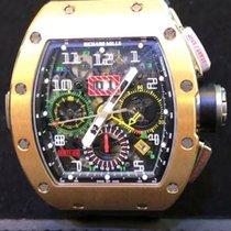 Richard Mille Felipe Massa RM011-02 GMT Rose Gold Black Rubber...