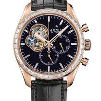 Zenith El Primero Chronomaster 1969 Jewelry Black 42mm Watch...