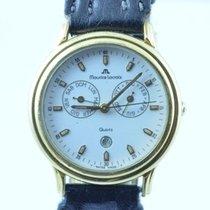 Maurice Lacroix Herren Uhr 34mm Stahl Vergoldet Quartz Rar 1...