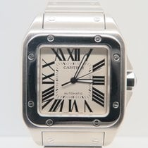 Cartier Santos 100 XL Steel Bracelet Full Steel (Box&Papers)