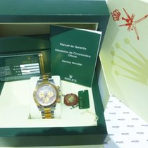 "Rolex Daytona Steel and Gold MOP Dial ""Oman"" Logo -..."