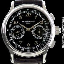 Patek Philippe 5370p Platinum Split Seconds Chronograph Black...