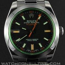 Rolex MILGAUSS VERTE ref 116400 GV